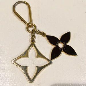 LOUIS VUITTON Flower Bag Charm/Key Ring